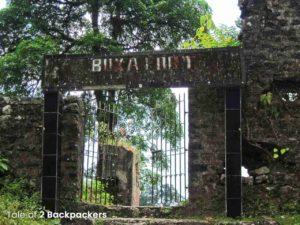 Buxa Fort Entrance