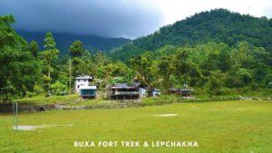Buxa Fort Trek and Lepchakha Trek