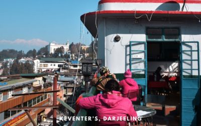 Keventers Darjeeling – Breakfast with a view of Kanchenjunga