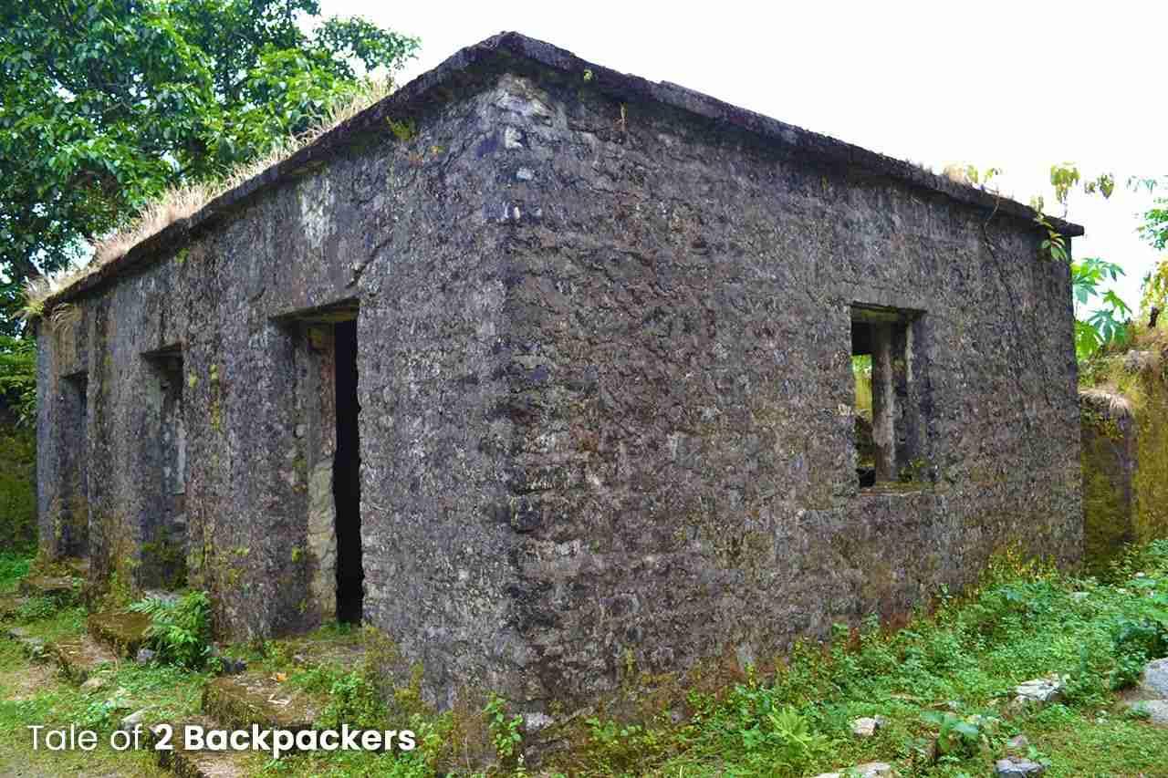 Prison Cells at Buxa Fort