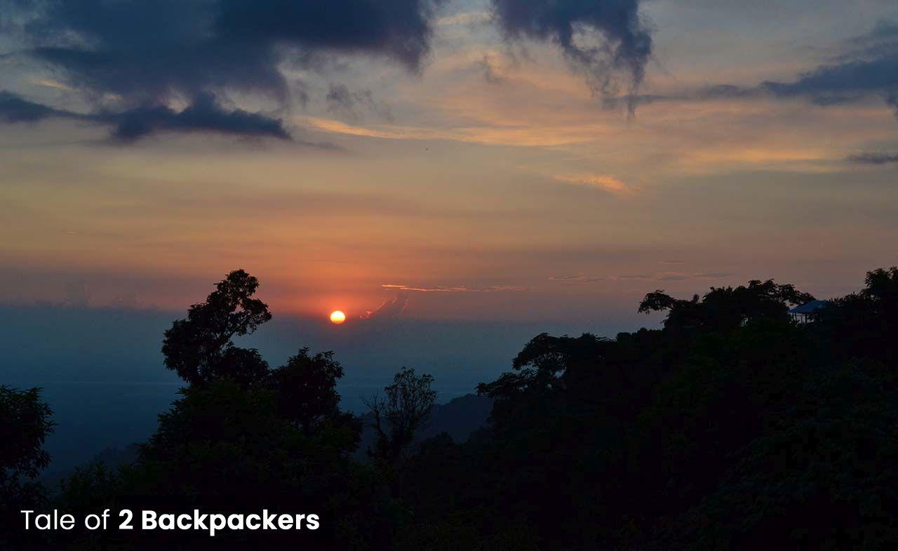 Sunset from Lepchakha