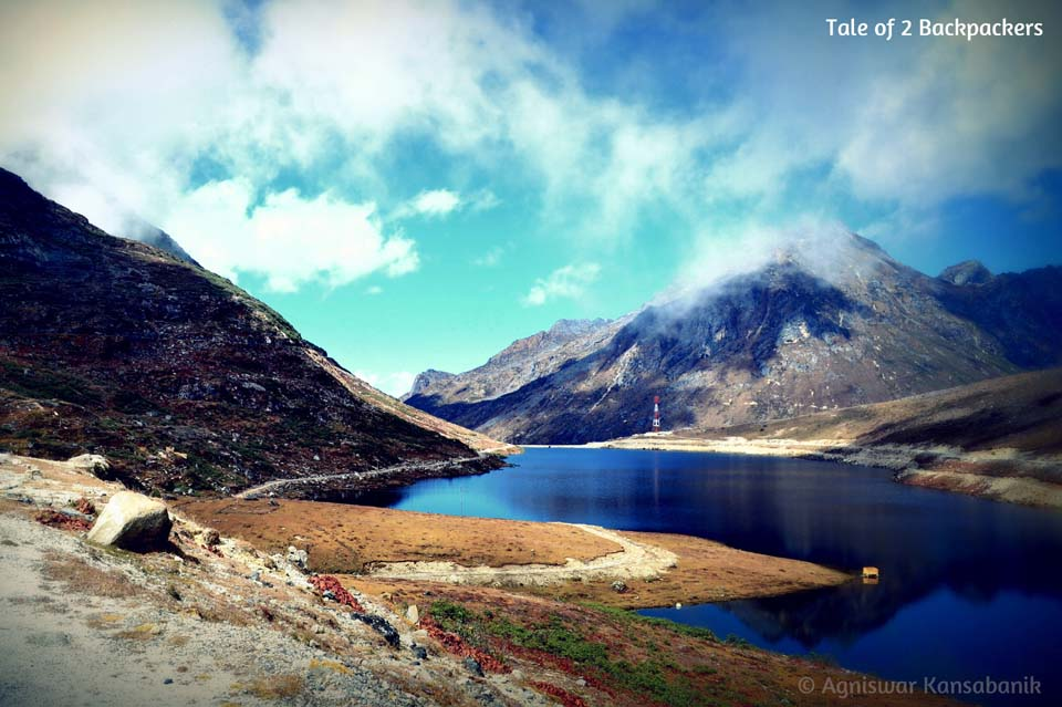 Magnificent view of the Sela Lake