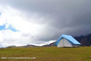 Bedni Bugyal_meadow at Roopkund trek_uttarakhand