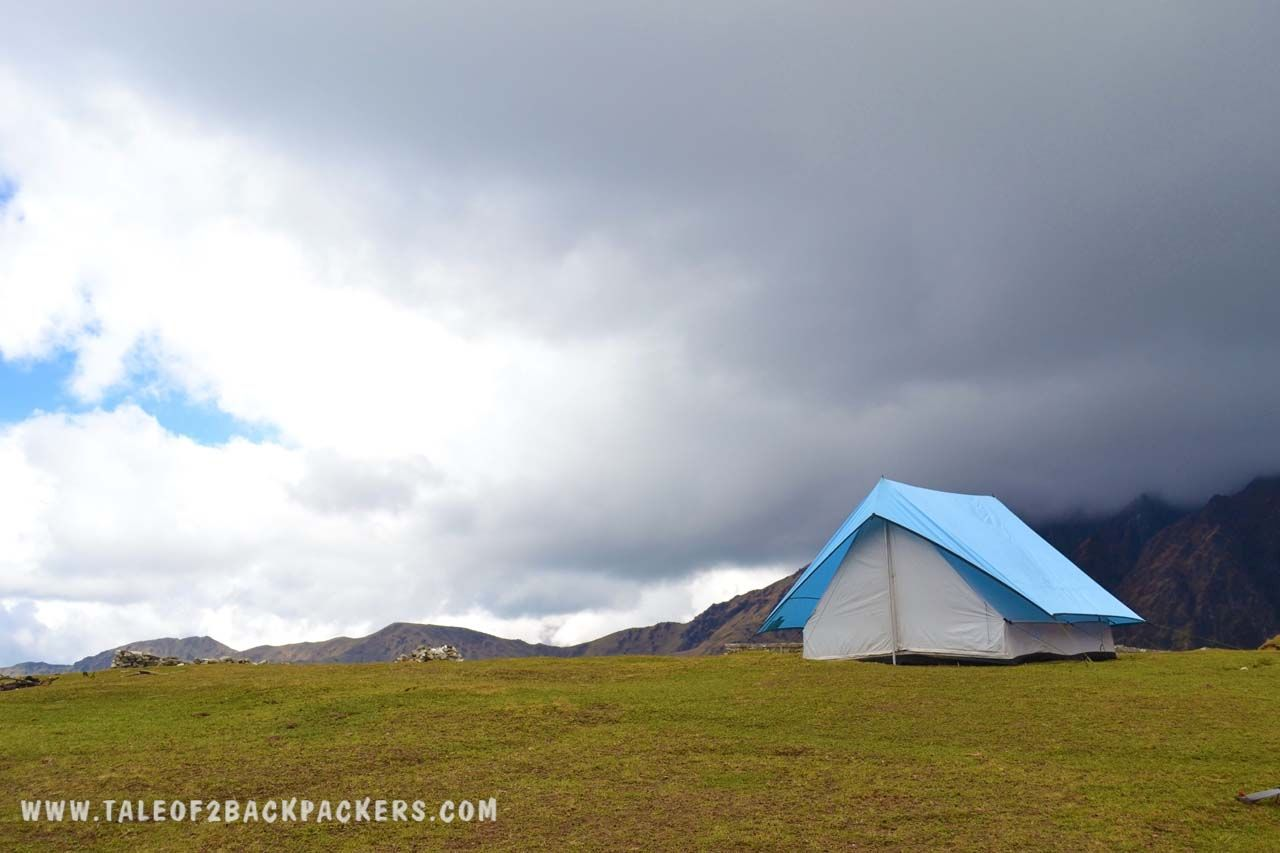 Bedni Bugyal_meadow at Roopkund trek_uttarakhand