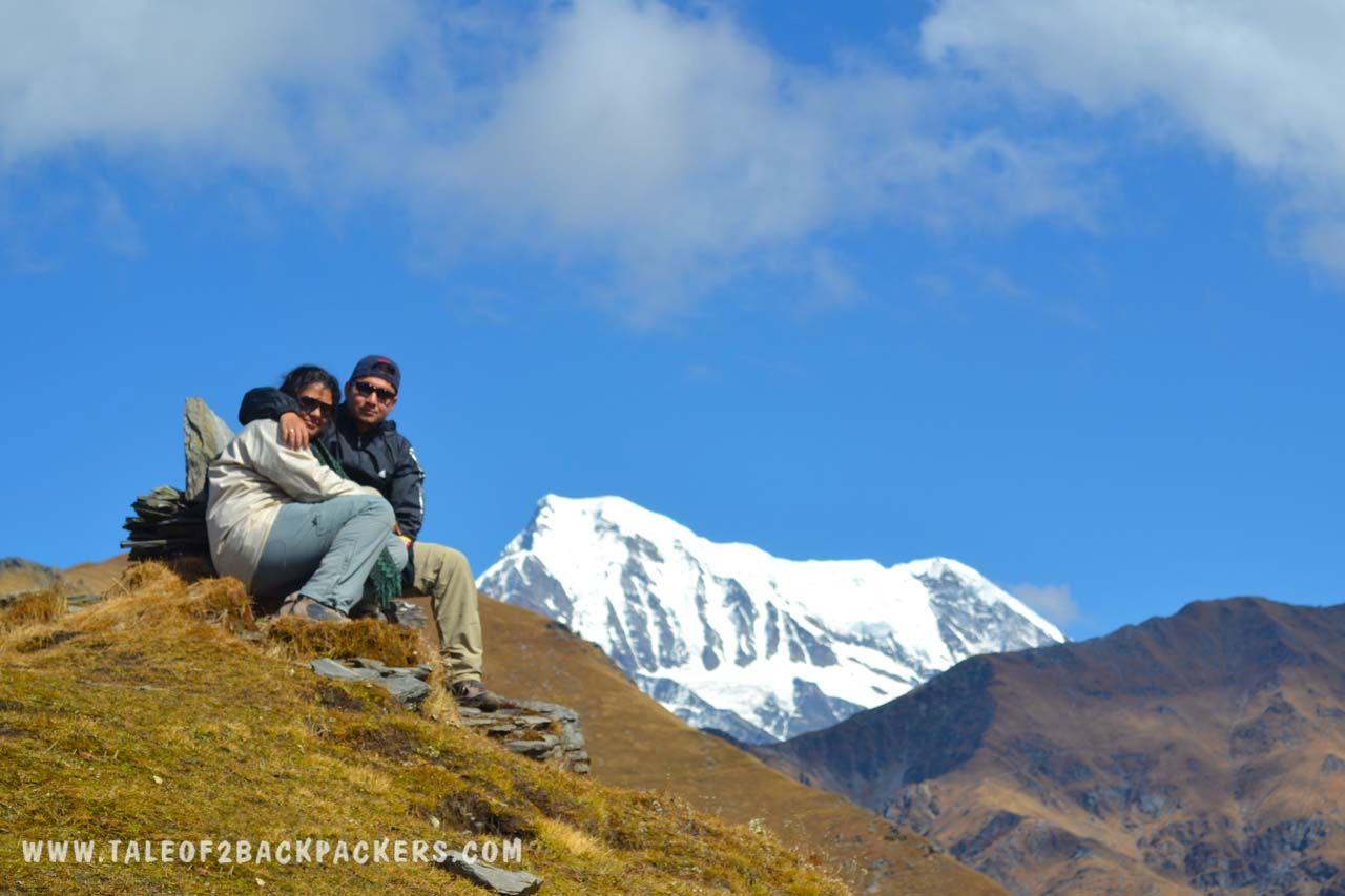 2 Backpackers at Roopkund Trek