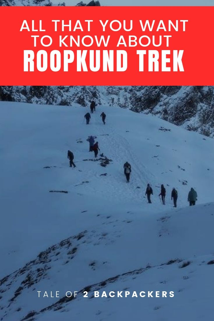 Roopkund Trek blog