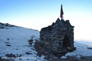 Temple at Roopkund trek