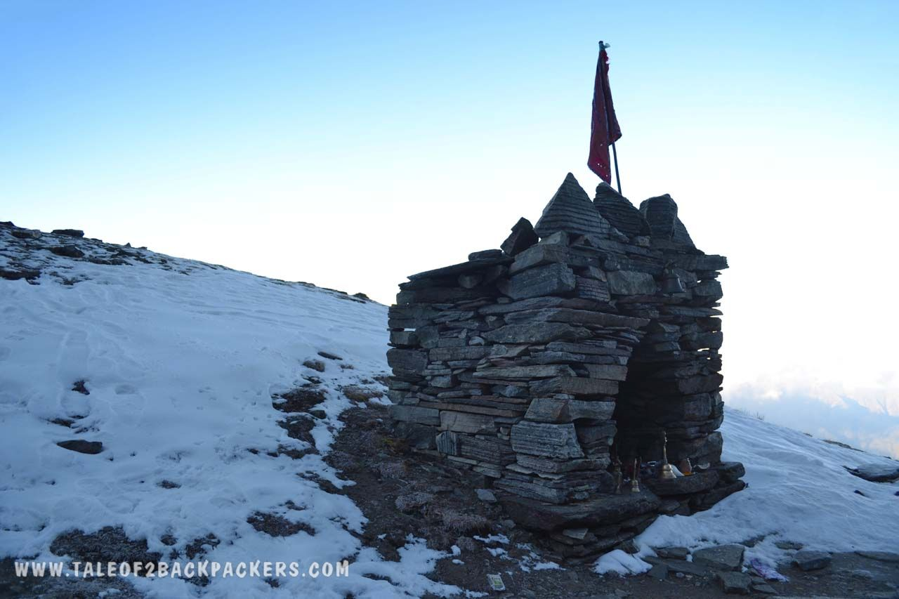 Temple at Roopkund trek