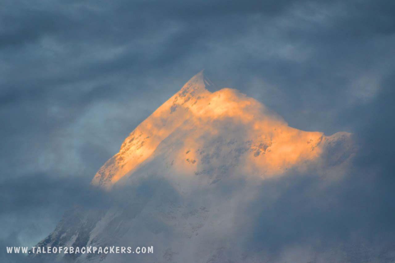 View of Trishul Peak_Roopkund Trek