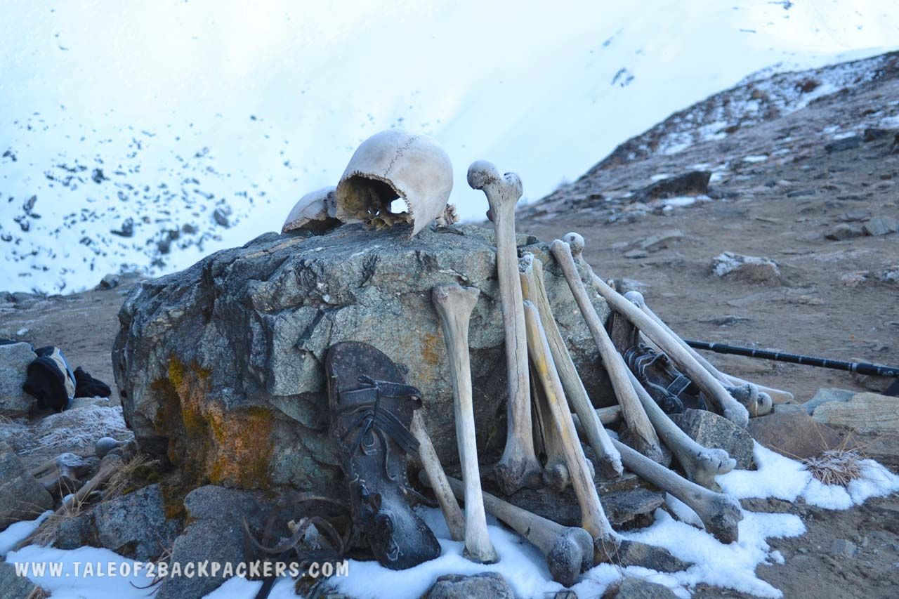 skeletons found near roopkund lake