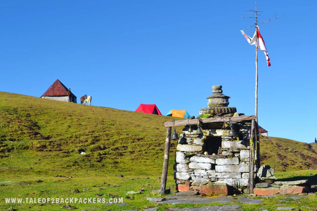 temple at Roopkund