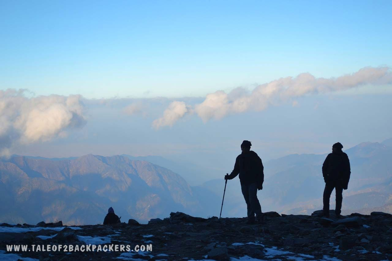 trekkers at the roopkund trek