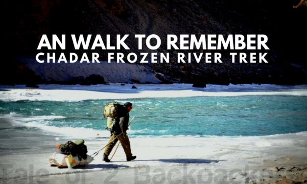 An walk to remember – Chadar Frozen River Trek