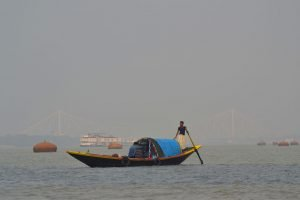 Boat ride on the Hooghly River from Princep Ghat