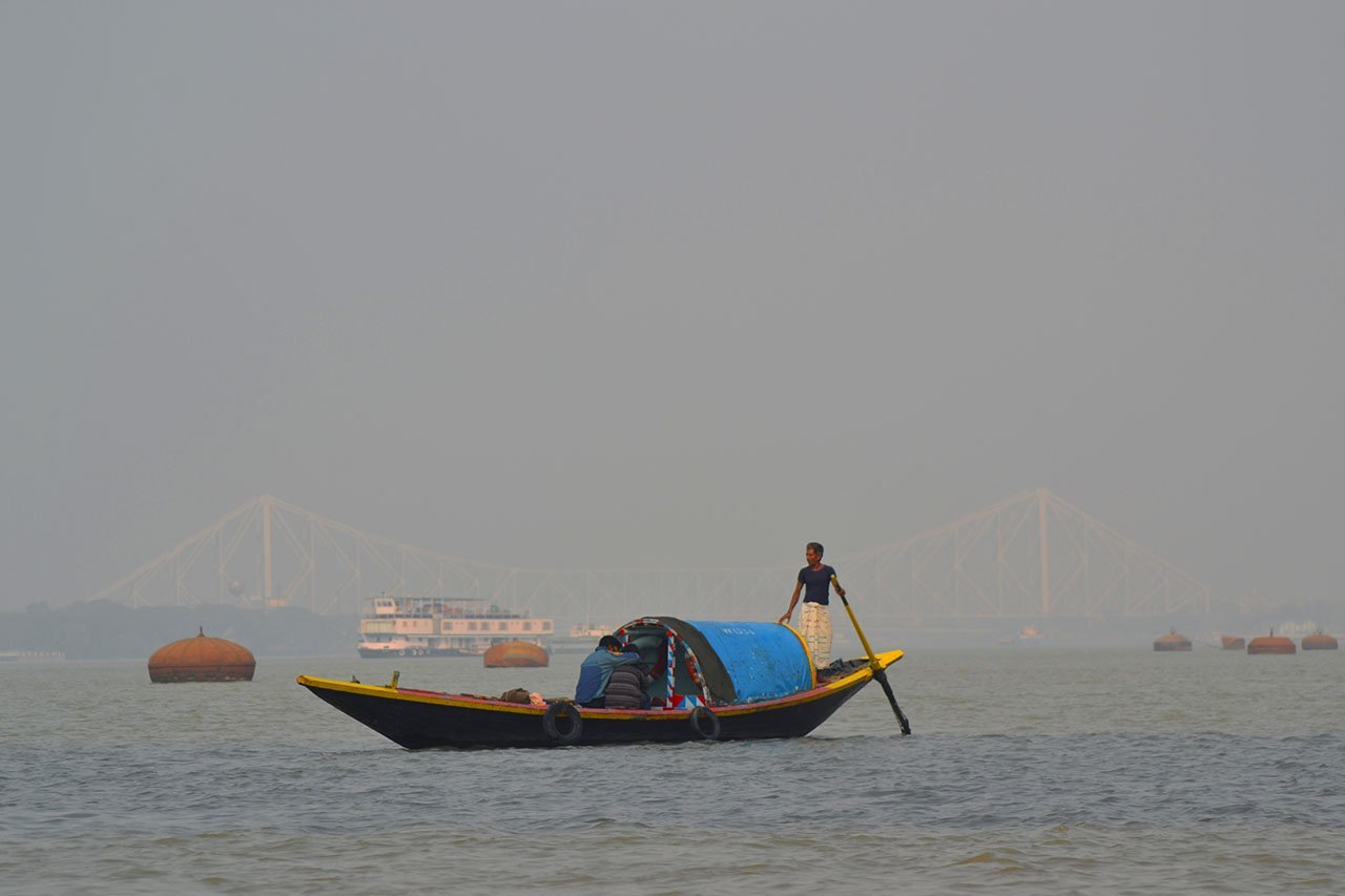 Boat ride on the Hooghly River