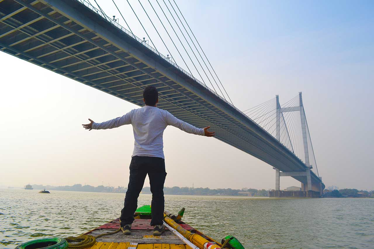 Boat ride at Hooghly River