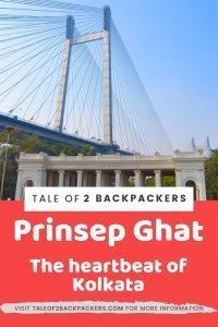 Prinsep Ghat was built in the memory of James Prinsep