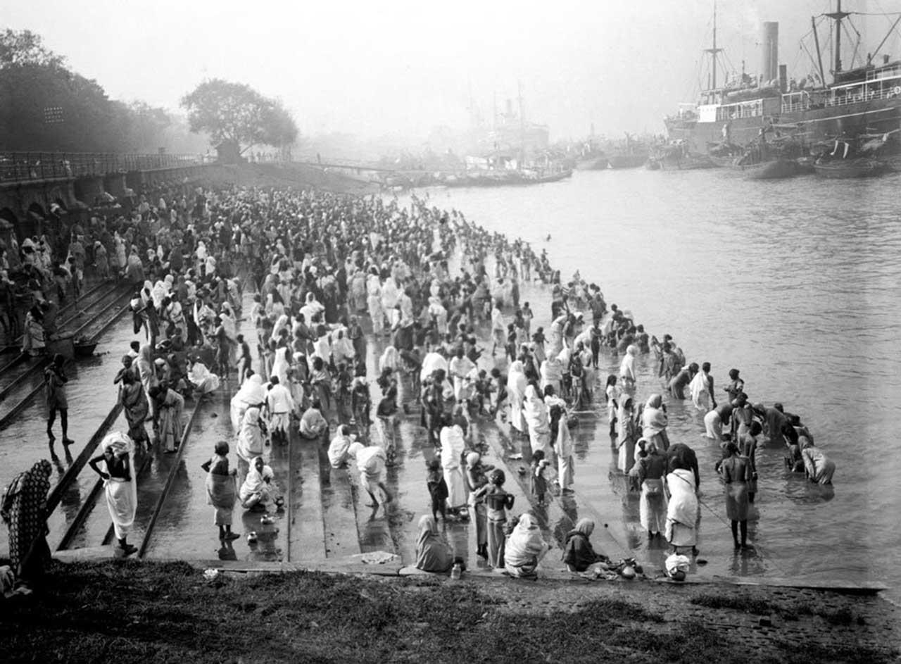 Princep Ghat in 1900