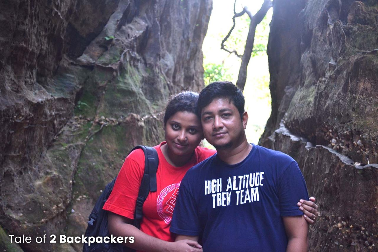 2 Backpackers at Pachmarhi