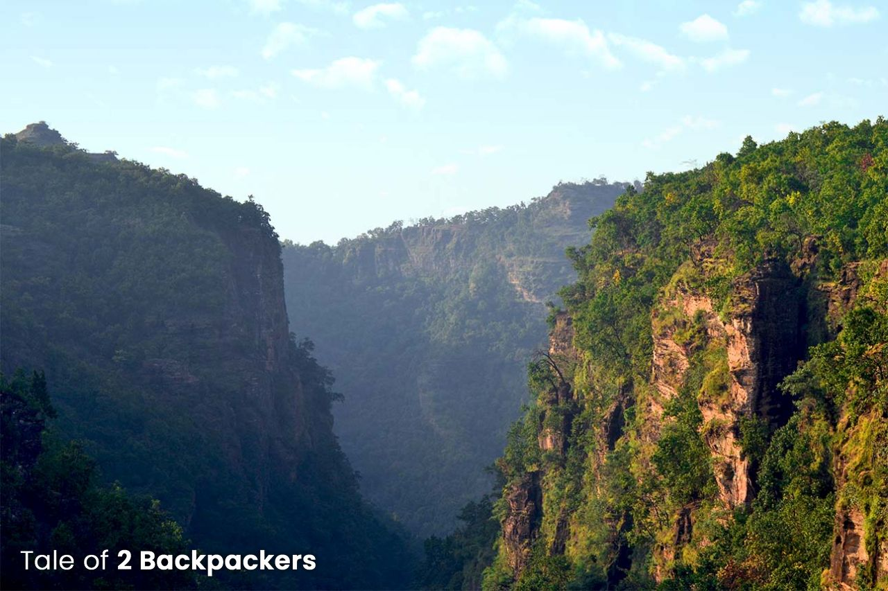 Handi Khoh or Suicide Point in Pachmarhi