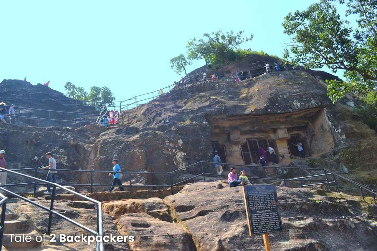 Pandava Caves Pachmarhi
