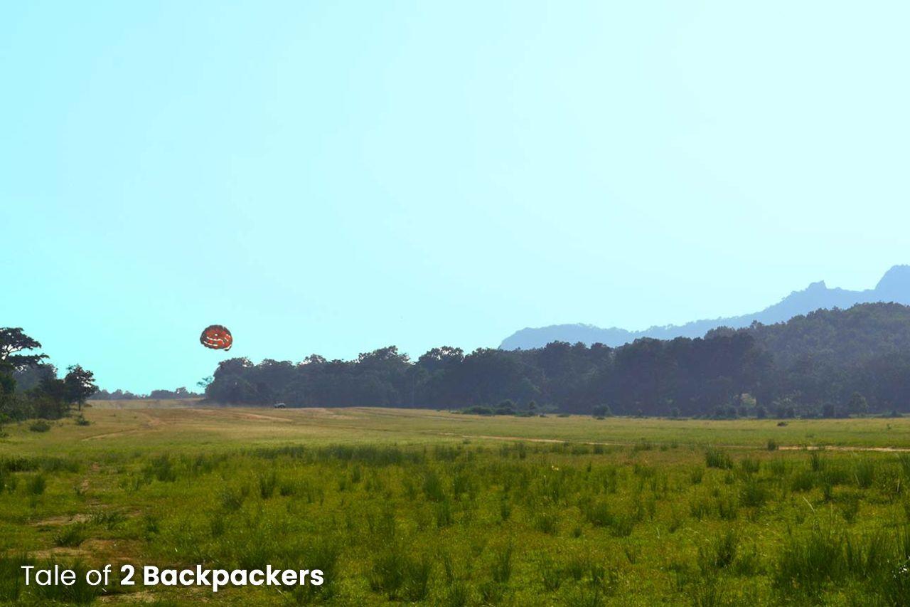 Paragliding at Pachmarhi, Queen of Satpura