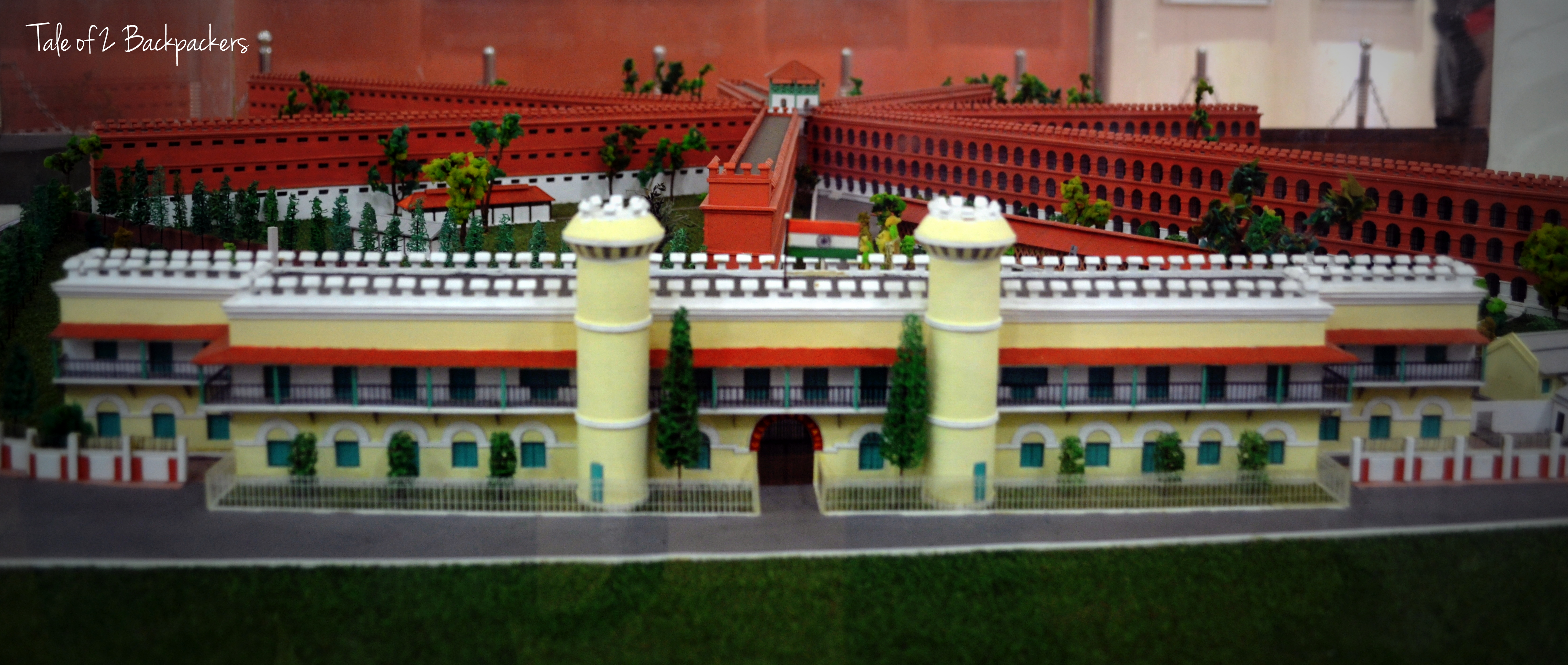 Model of Cellular Jail Complex