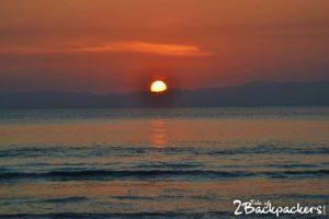 Sunrise at Laxmanpur beach -Things to do at Neil Island (Shaheed Dweep) Andaman