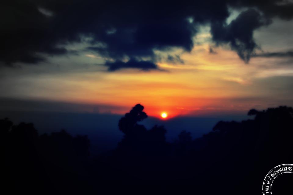 Sunset at Lepchaka