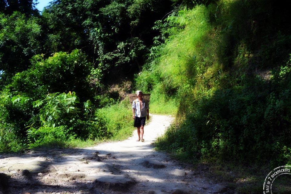 Road towards Buxa