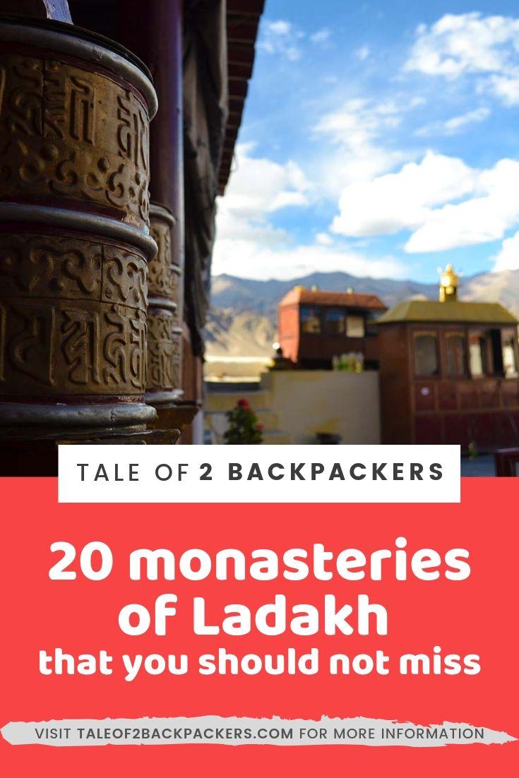 Ladakh Monasteies