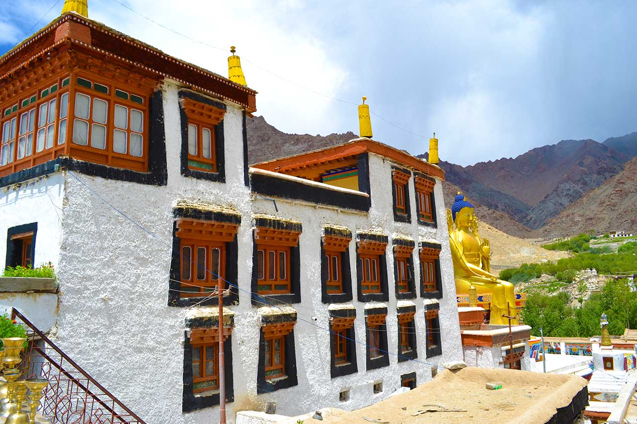 Likir Monastery is one of the most beautiful Ladakh monasteries