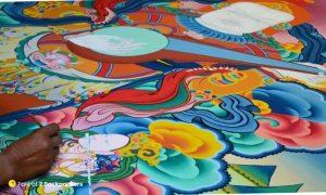Murals at Monasteries of Ladakh
