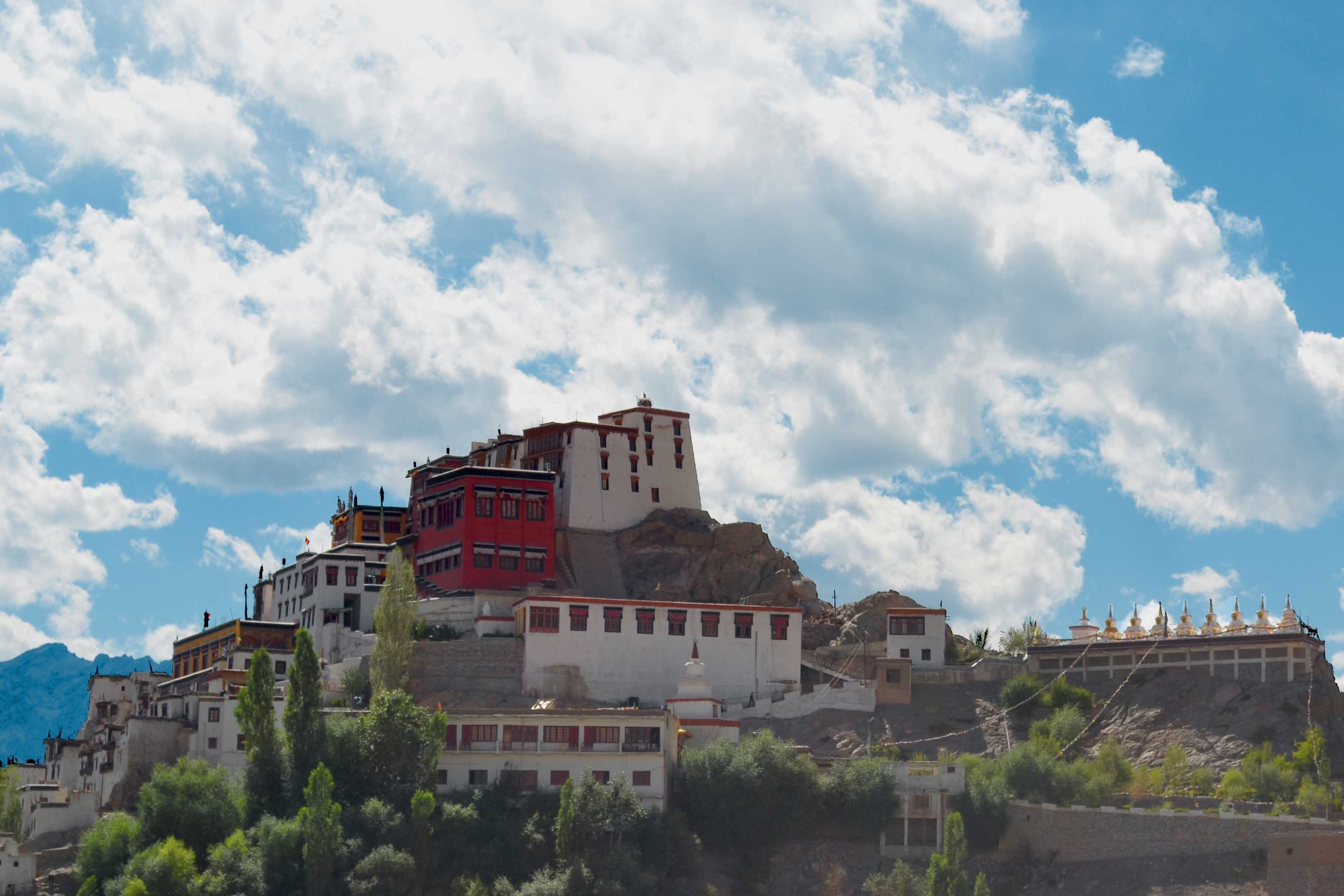 Thiksey Monastery is one of the most beautiful Monasteries of Ladakh