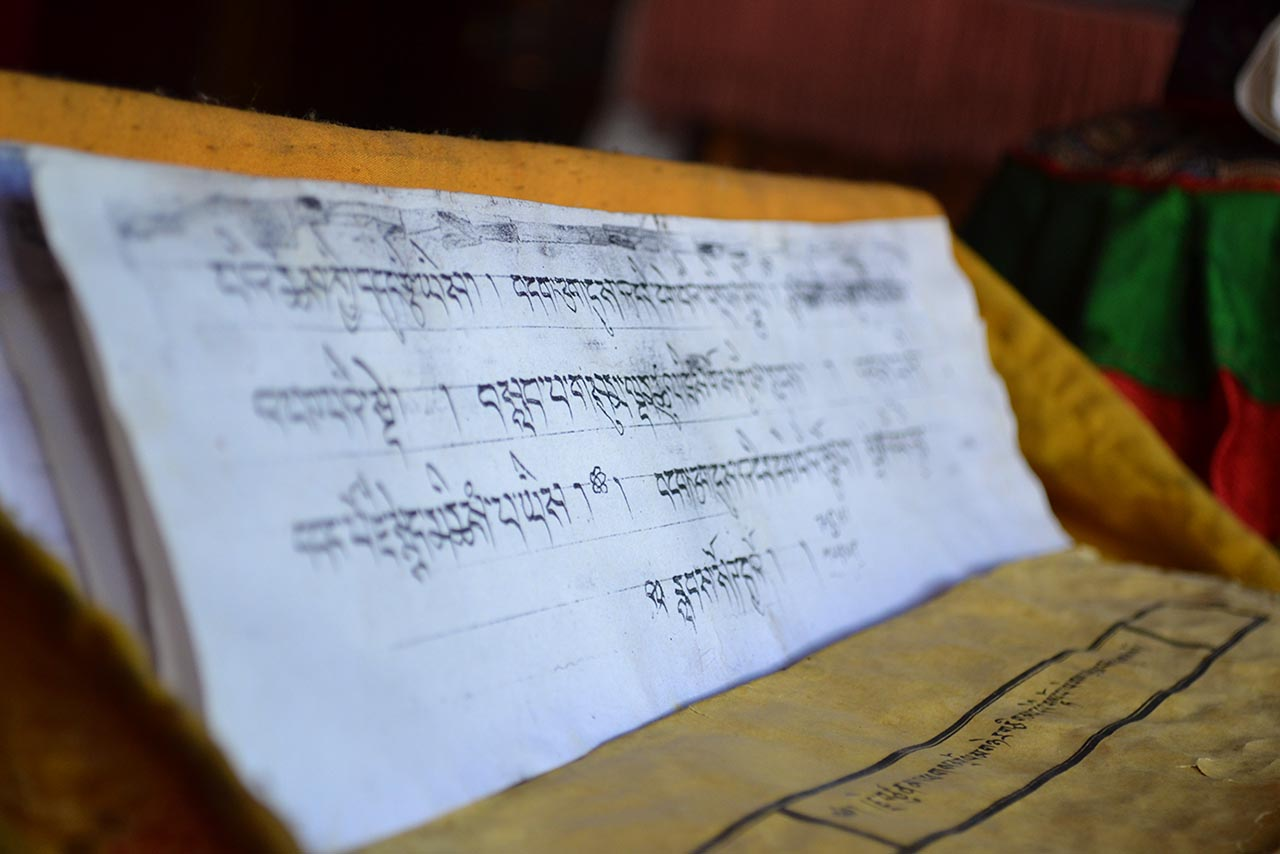 Tibetan scriptures - Monasteries of Ladakh
