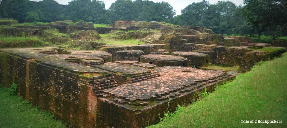 Ballal Bati Excavation site at Gour