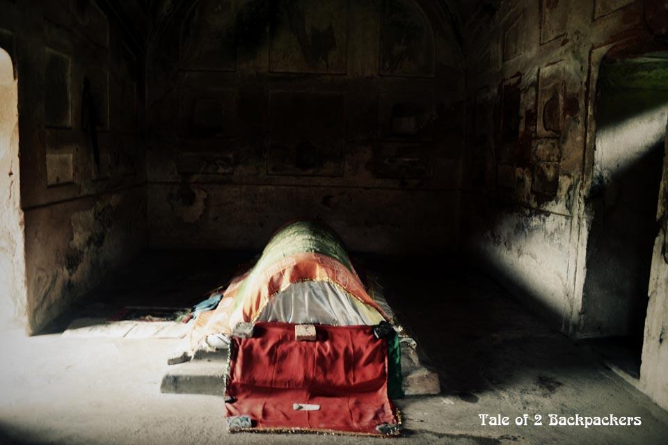 Fath Khan's Tomb inside Qadam Rasool Mosque, Gour Malda