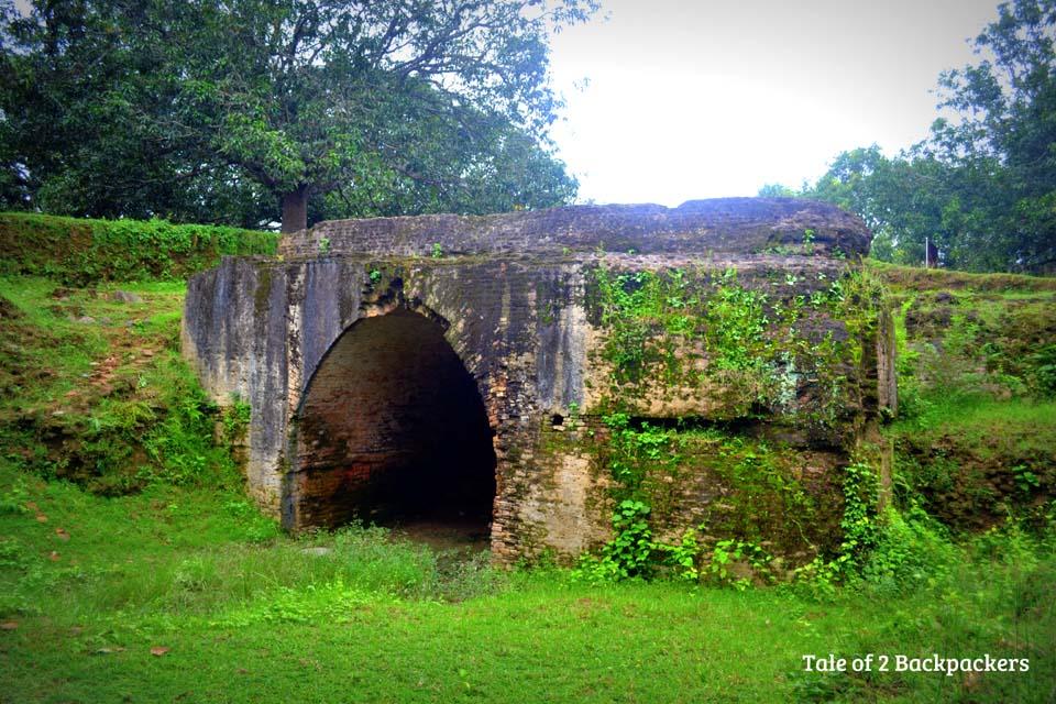 Jahajghata - Excavation site at Gour Malda