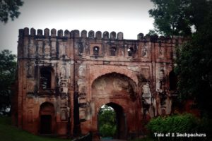Lukachuri Gate at Gour, Malda