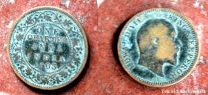 Old Coins found from excavation