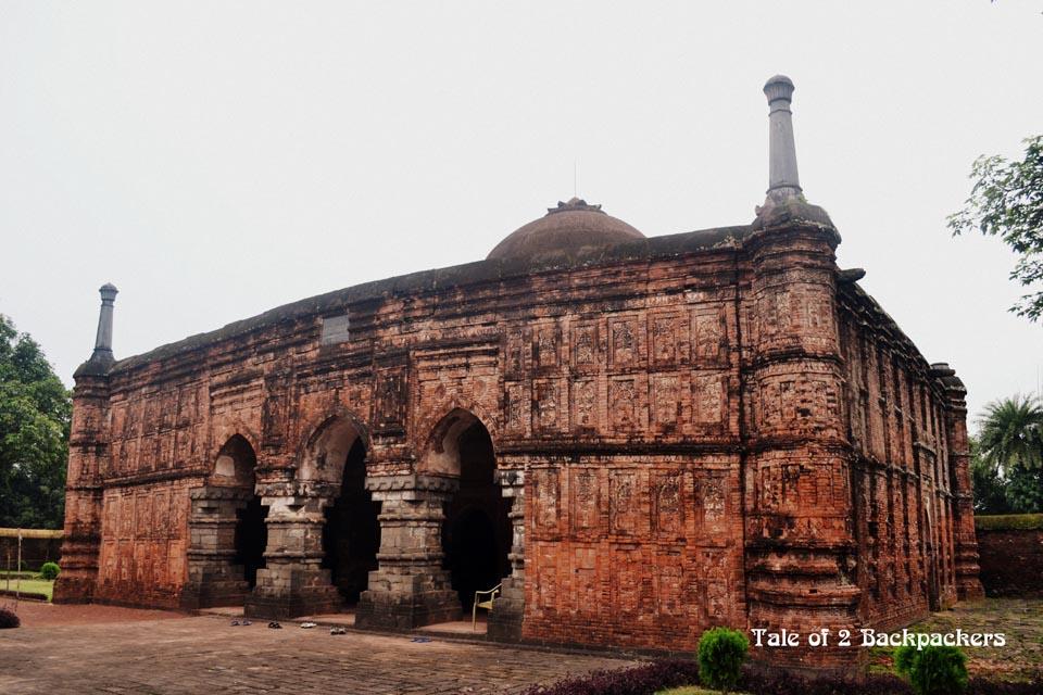 Qadam Rasool Mosque at Gour Malda
