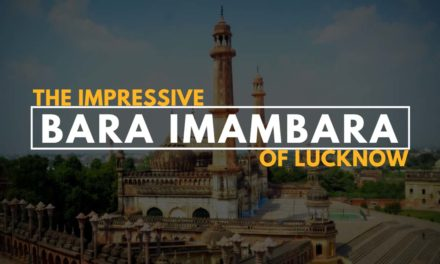The impressive Bara Imambara of Lucknow