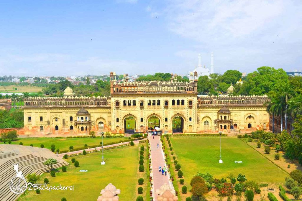 View of Barra Imambara from the terrace