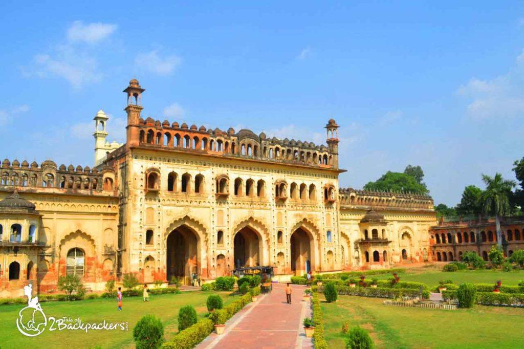 Bara Imambara complex in Lucknow