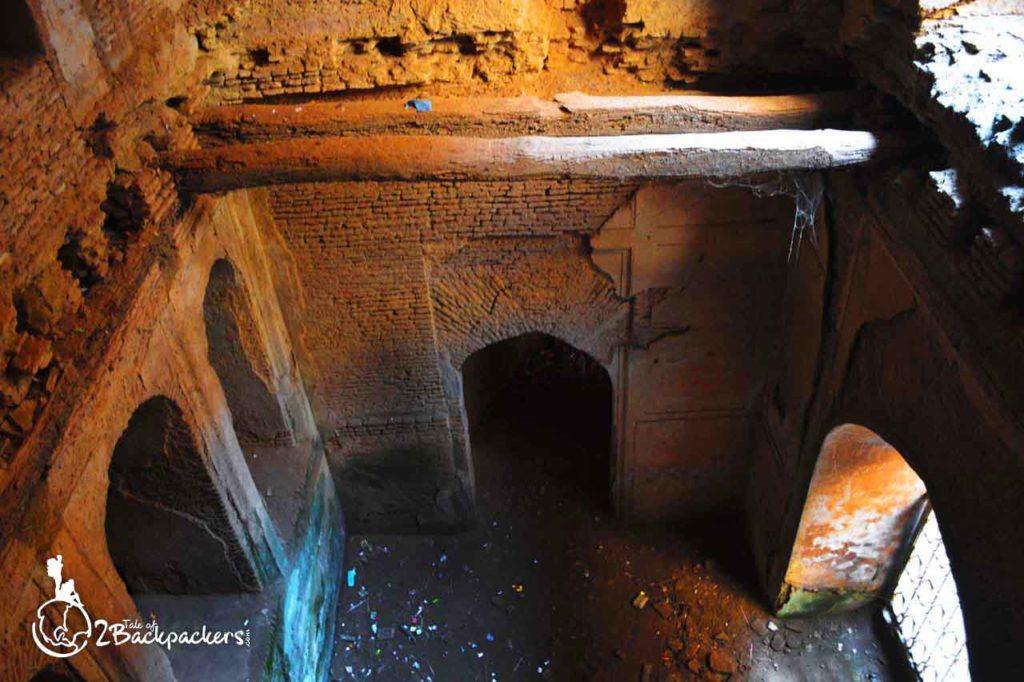 well in Shahi Baoli at Bara Imambara in Lucknow