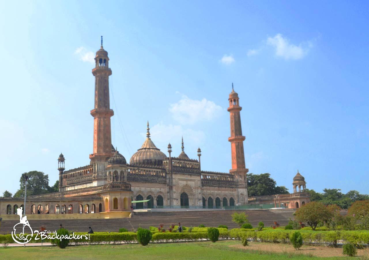 Asigi mosque at Bara Imambara in Lucknow