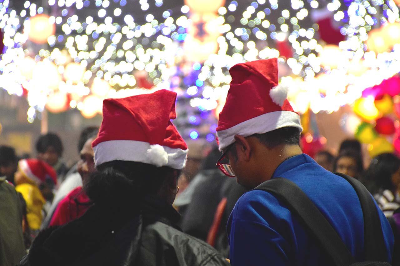 Christmas at Bow Barracks Kolkata