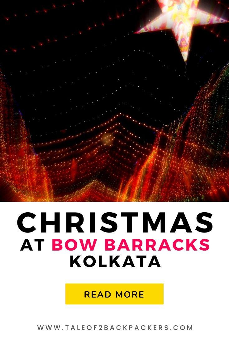 Christmas at bow Barracks