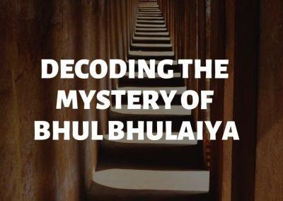 Mystery of Bhul Bhulaiya Lucknow