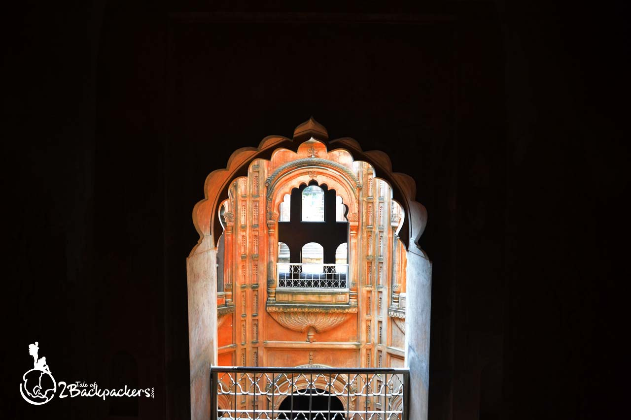 Inside the Shahi Baoli of Bara Imambara, Lucknow